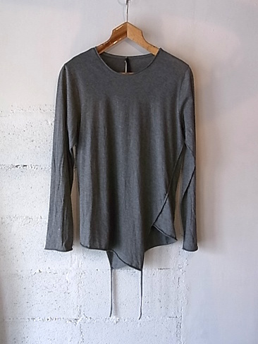【SALE/セール/30%OFF】[送料無料]Forme d'expression/Twisted Long Sleeve Shirts.[31-151-0006]