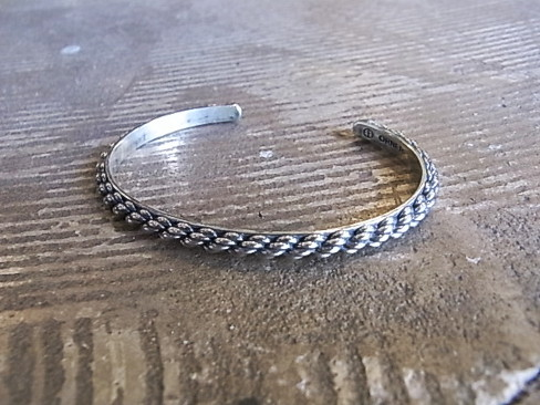 【GW SPECIAL DISCOUNT 期間限定 4/25~/5/6】[送料無料]ORNER/BRACELET SILVER. [515P] [59-152-0001]