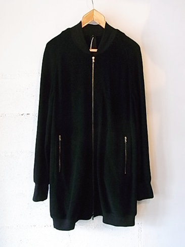 ≪30%OFF≫[送料無料]Forme d'expression/Long Bomber Coat Wool Fleece. [34-152-0008]