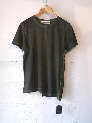 [セール/SALE/30%OFF]SYNGMAN CUCALA/T-SHIRTS GARMENT DYED. [32-151-0001]