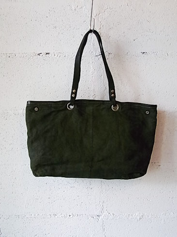 [送料無料]DelleCose/デレコーゼ/POSTA DYED GARMENTS TOTE. [99-152-0007]