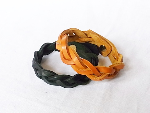 [送料無料]Le Sellier/Bracelet Tresse [59-151-0020]