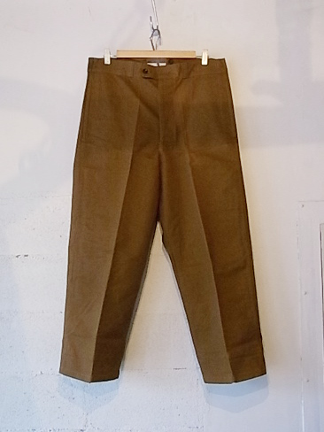 "30's""French Work Pants""(デッドストック)"