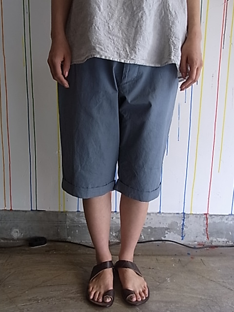 ◎【SALE/セール30%OFF】[送料無料]Manuelle Guibal /Cotton Short Pants[43-121-0005]