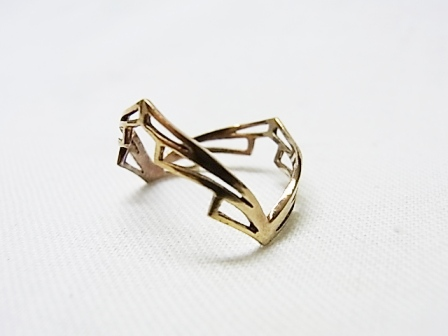 【SALE 30%OFF】Comfort Station:Gold isis ring RL7[49-122-0017]