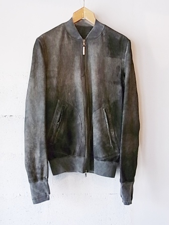 【SALE/セール30%OFF】[送料無料]ISAAC SELLAM/LEATHER BLOUSON [34-142-0002]
