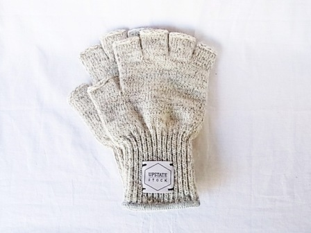 UPSTATE STOCK/Fingerless Ragg Wool Glove[USFWM-B2X/LB2X][59-142-0015]
