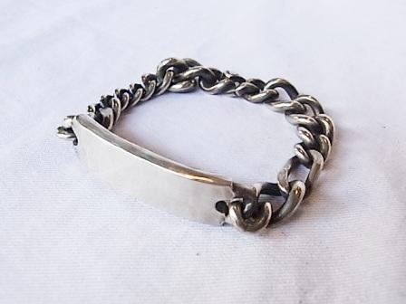 WERKSTATT:MUNCHEN/Blacelet Chain Tag[14M2591][39-142-0005]