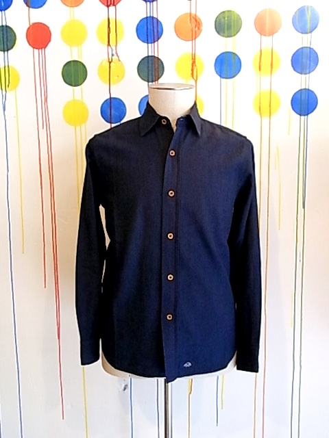 【FINALSALE 半額!1月31日(水)まで!!】←【SALE/セール/30%OFF】BLEU DE PANAME/WASHED SHIRTS[31-132-0001]