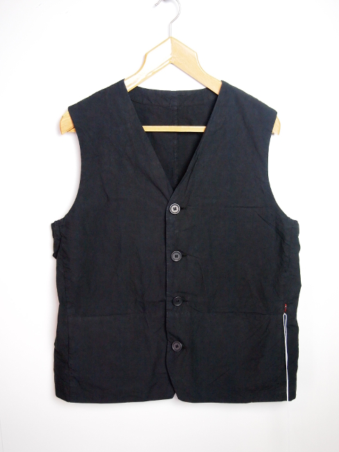≪New Arrival≫[送料無料]CASEY CASEY/GILET CORD. [10HG10T PAPER][24-181-0002]