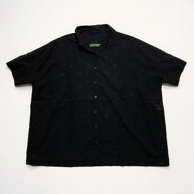 ◯≪New Arrival≫[送料無料]CASEY CASEY/SQUARE SHORT SHIRT [12FC100] [31-191-0001]