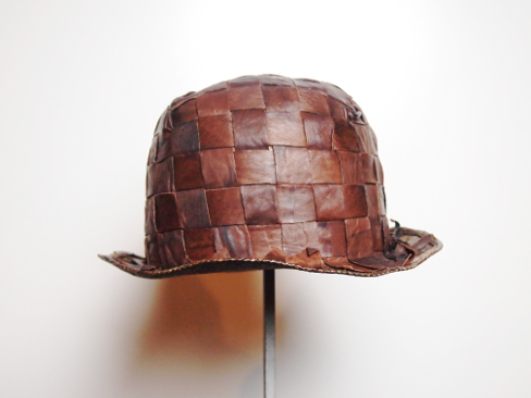 ≪New Arrival≫[送料無料]MOVE ROMA/ムーヴ ローマ/STRAW&LEATHER HAT. [48-181-0006]