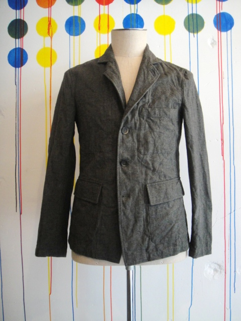 【SALE/セール30%OFF】[送料無料]forme d'expression/Worker's Jacket Washed[37-132-0005]