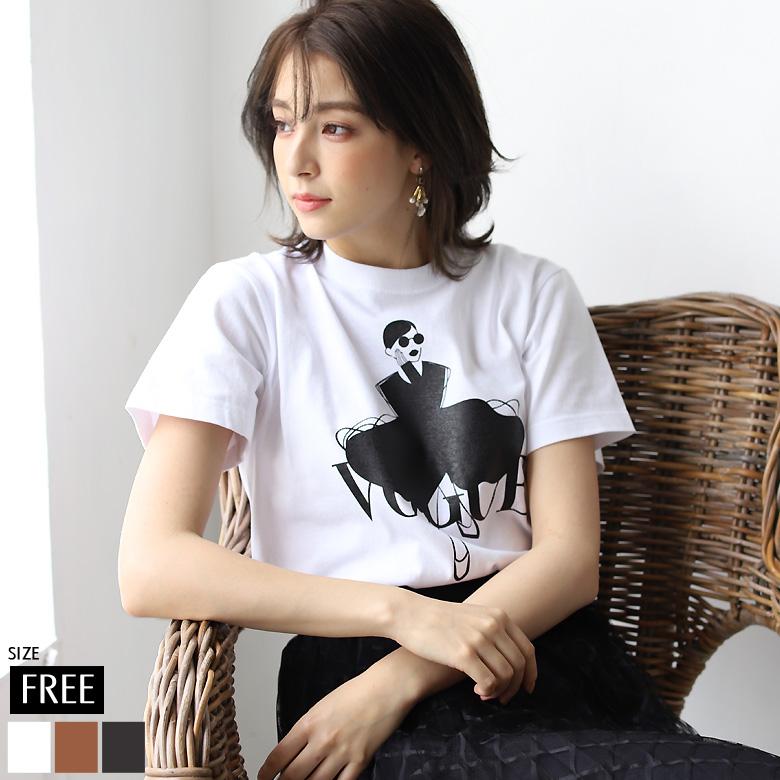 モチーフプリントTシャツ(M105-214T)【メール便】