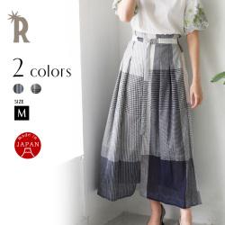 HOOCHIE COOCHIE 日本製 ベルテッドロングスカート(912824)