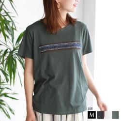 【ポイント100%還元】CYNICAL ポイントデニムロゴTシャツ (912-95142)