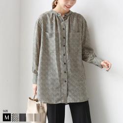 nougatine スタンドチュニックシャツ (WON1390)