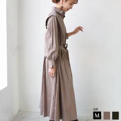 【特別価格】 CYNICAL デザインシャツコットンワンピース (952-95097)