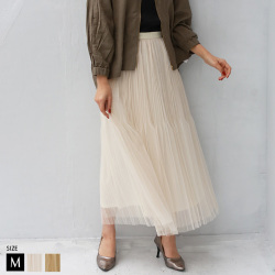 【特別価格 】 Buyer's select フレアチュールスカート(28397A234)