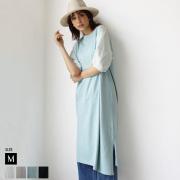 【Cu】バルーンスリーブワンピース(15-0073)