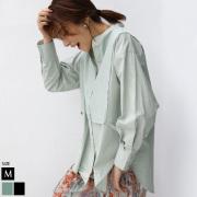 ブロード×ポプリンドッキングシャツ(29723A132)