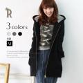 【ポイント100%還元】Buyer's select 日本製 パーカー風ZIPスウェットコート(434150)