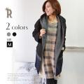 【ポイント100%還元】Lallegra 日本製 裾切替シャギーコート(526156)