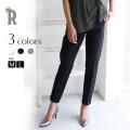【特別価格】CLOCHE 日本製 裾折り返しきれいめセンタープレスストレッチパンツ(610-86008)