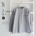 【特別価格】CLOCHE ワイドシルエットオーガニックコットンシャツ(610-85006)