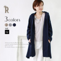 【特別価格】Buyer's select Made in Japan フーデッドコーディガン(612-64504)(622-64504)▼