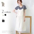 【特別価格】Buyer's select Made in Japan コットン100%ジャンパースカート(712-61502)【2017 S/S】▼