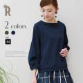 【特別価格】(710-65001)(720-65001)Buyer's select Made in Japan ポケットデザインコットン100%カットソー▼
