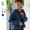 CYNICAL 袖・裾フリンジフーデッドデニムジャケット(812-95005)【2018 S/S】▼