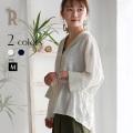 CYNICAL ストライプ切替リネンシャツジャケット(812-95096)【2018 S/S】▼