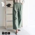 REAL CUBE コーデュロイタックワイドパンツ(981815)【2018 A/W】▼