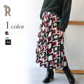 【特別価格】biage マルチスクエアプリーツスカート(A91593)▼