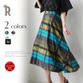 【Summer SALE】HOOCHIE COOCHIE マルチチェックアシメスカート(911809)【2019S/S】 ▼