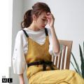 【ポイント100%還元】REAL CUBE ボリュームスリーブカットソー (M915100)