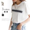 CYNICAL ポイントデニムロゴTシャツ (912-95142)