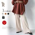 【特別価格】(910-66006) Buyer's select 日本製 センタープレスストレッチワイドパンツ