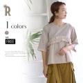 【特別価格】 ROSIEE フリル切り替えトップス(112601)▼