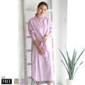 【特別価格】ROSIEE 3wayデザインシャツワンピース(113204)