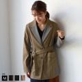 【ポイント100%還元】【特別価格】 CYNICAL チェックデザインジャケットコート(952-95030)