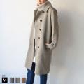 【特別価格】buyer's  日本製 ウールジャケットコート (852-64502) (852-64503) 【2019A/W】