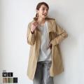 【特別価格】 INNOWAVE キルティングライナー付きフーディーロングジャケット(85-00165)
