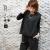 バックスリットフロント裾バルーンノースリーブプルオーバー(450-85123)