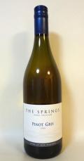 ザ・スプリングス・ピノ・グリ(白) ['19] アロハ・ニュージーランド・ワインズ