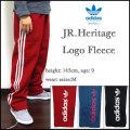 アディダス/adidas/スウェットパンツ/キッズ/ジュニア/JR.HERITAGE LOGO PANT/ヘリテージロゴ/originals/オリジナルス