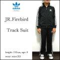 アディダス/ジャージ上下/キッズ/adidas/ジュニア/子供/JR.FIREBIRD TRACK SUIT/ブラック/ファイアーバード トラックスーツ/originals