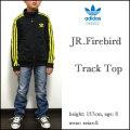 アディダス/adidas originals/キッズ/ジャージ/ジュニア/子供/JR.FIREBIRD TRACK TOP/ブラック×Y/ファイアーバード トラックジャケット